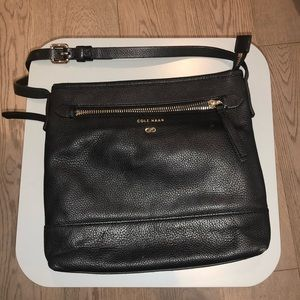 Medium Cole Haan Crossbody - Black